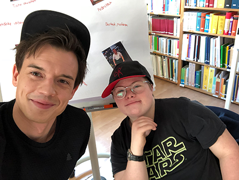 Philipp Hansa mit Christoph