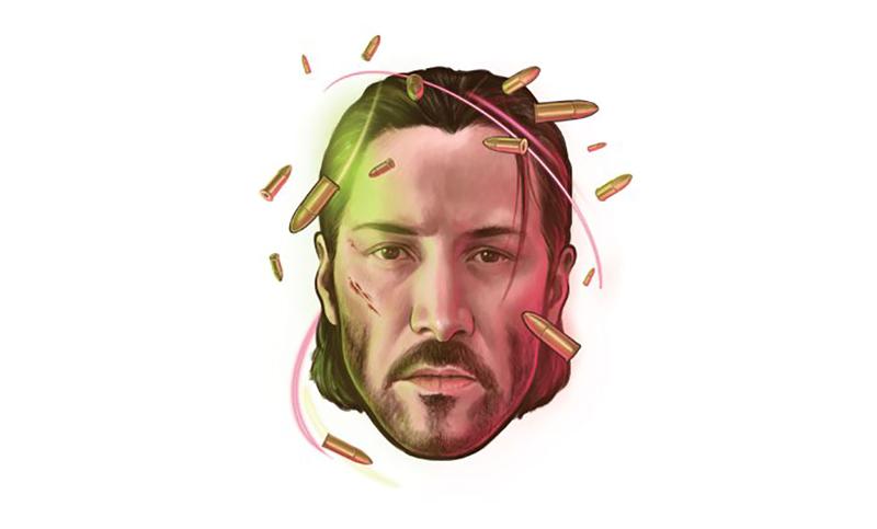 Keanu Reeves Illustration