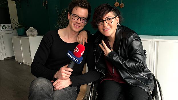 Philipp Hansa mit Magdalena