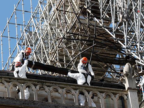 Notre-Dame: Arbeiter von Gerüstbaufirma missachteten Rauchverbot