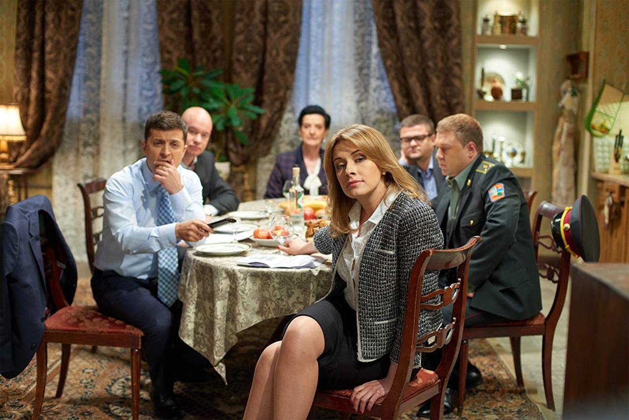 """Screenshot aus der TV-Serie """"Sluga naroda"""" (""""Diener des Volkes"""")"""