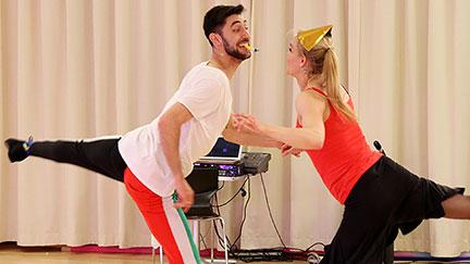 Nicole Wesner und Dimitar Stefanin