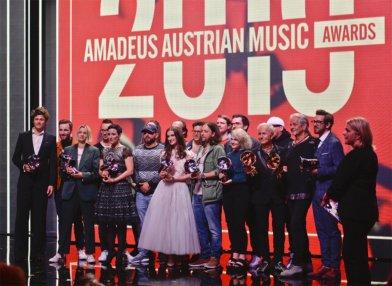 Alle Gewinner und Gewinnerinnen des Amadeus 2019