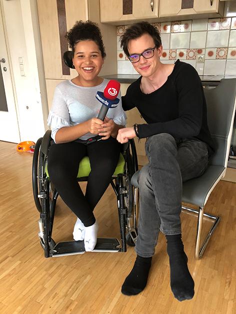 Philipp Hansa mit Vanessa