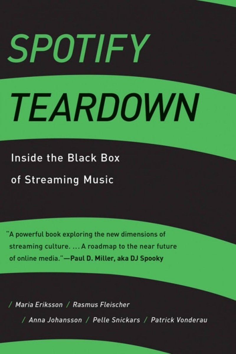 "Buchcover ""Spotify Teardown"""