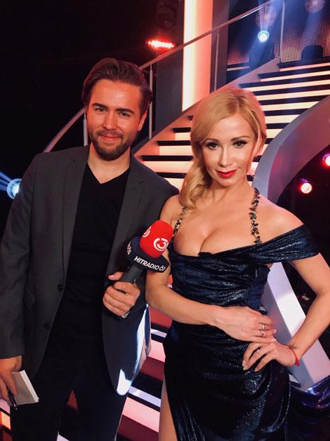 Ö3-Reporterin Martin Krachler Backstage bei Dancing Stars