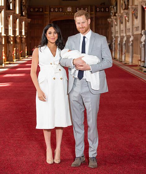 """Herzogin Meghan und Prinz Harry mit """"Baby Sussex"""""""