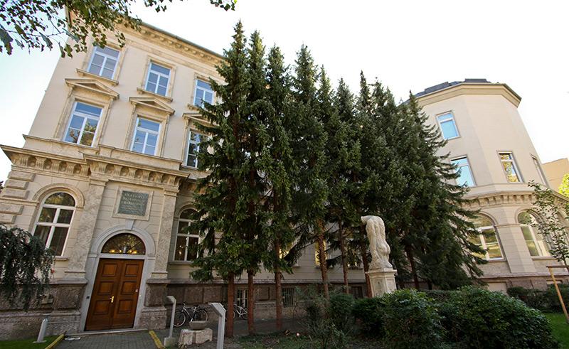 Außenansicht des Innsbrucker Anatomieinstituts