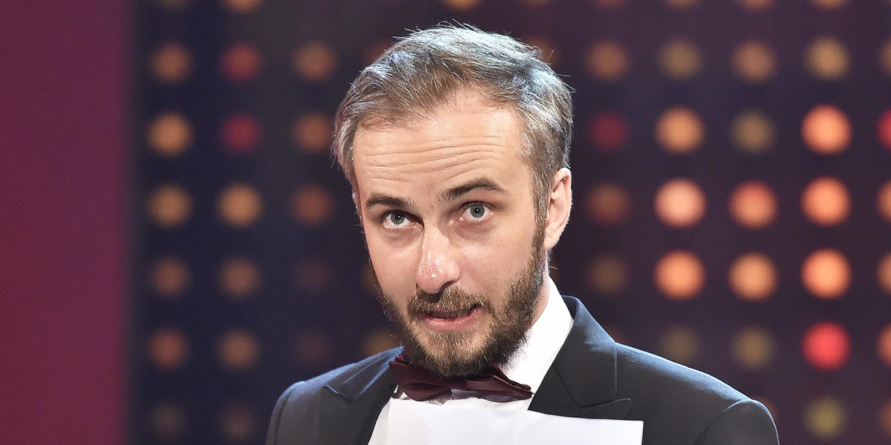 Comedian Jan Böhmermann bei der Romy-Gala