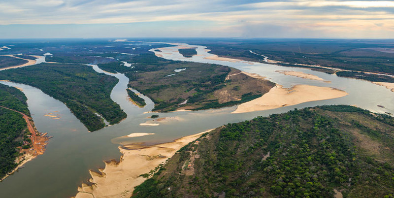 Rio Araguaia und Rio Coco in Brasilien