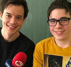 Philipp Hansa mit Kevin