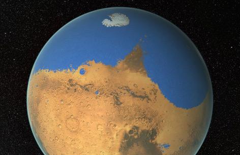 Warum der Mars Wasser verliert – science.ORF.at