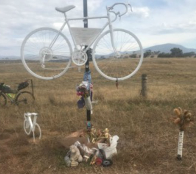 A memorial to Mike Hall