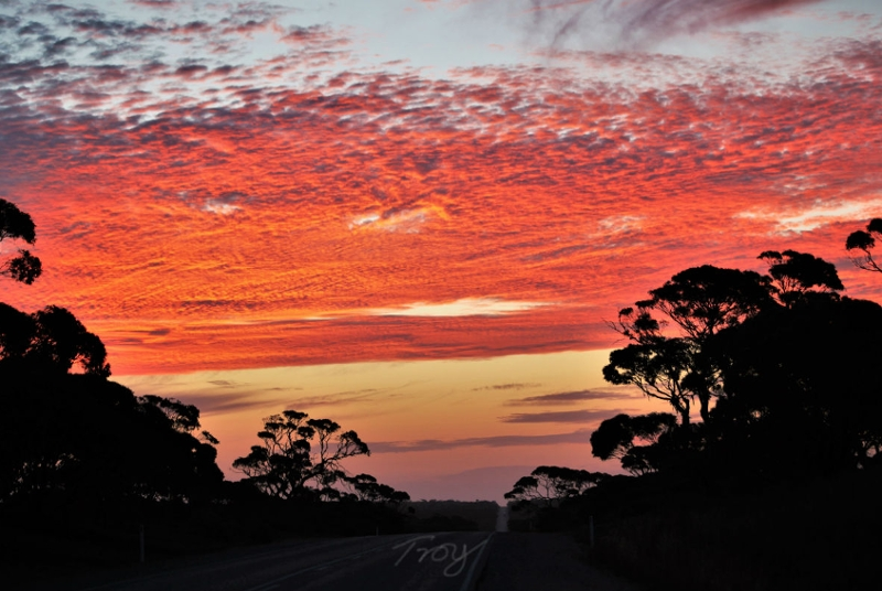 The wonderful sunsets of Australia