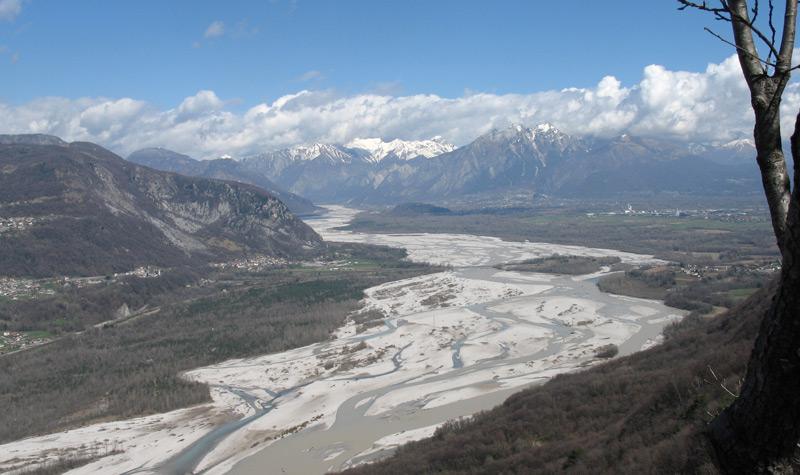 Der Tagliamento im Friaul/Italien zählt zu den letzten Wildflüssen Europas