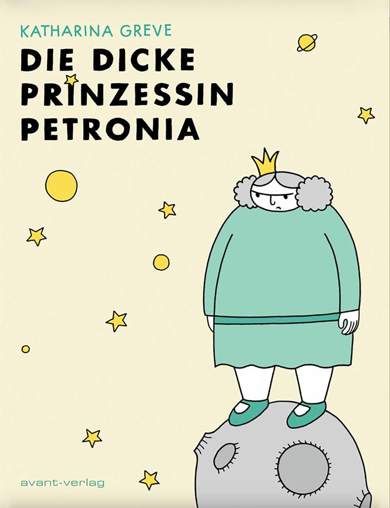 Die dicke Prinzessin Petronia, Comic-Cover