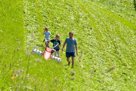 Bergbauernleben im Pongau - Von Wagrain bis Kleinarl    Originaltitel: Almleben im Pongau