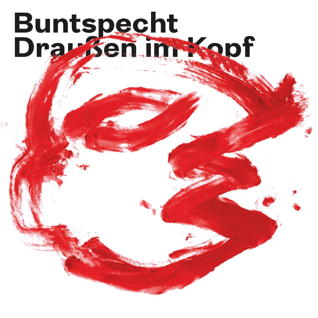 "Plattencover Buntspecht ""Draueßn im Kopf"""