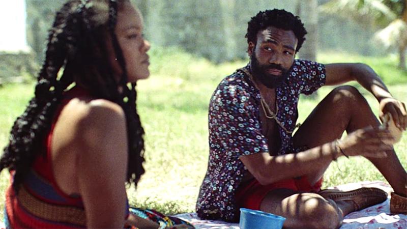"""Rihanna und Donald Glover im Film """"Guava Island"""""""