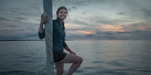 Emily at sea