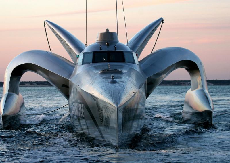 The EarthRace ship