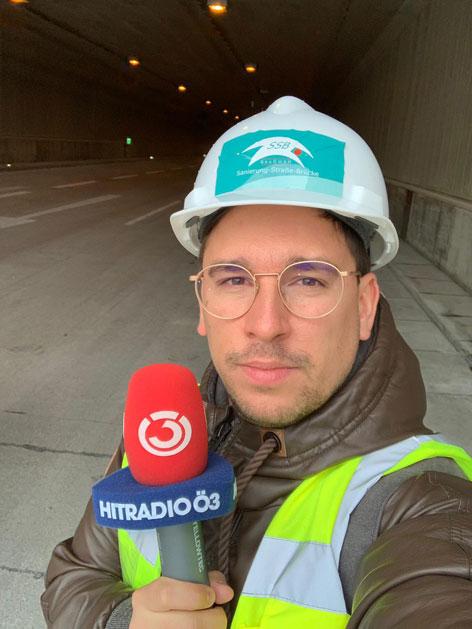Ö3-Reporter Michael Heinnger