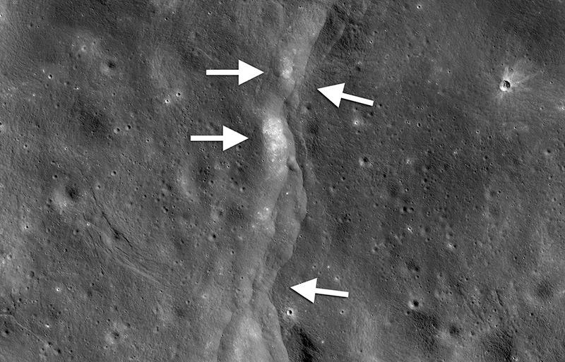Der Mond bebt und schrumpft – science.ORF.at