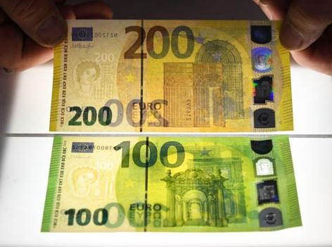 Hundert Euro Schein Bild