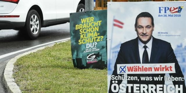 Wahlplakate zur EU-Wahl 2019