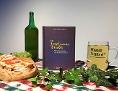 """Buch """"Da Josef und seine Briada"""" steht neben einem Bier und einer Brettljause"""
