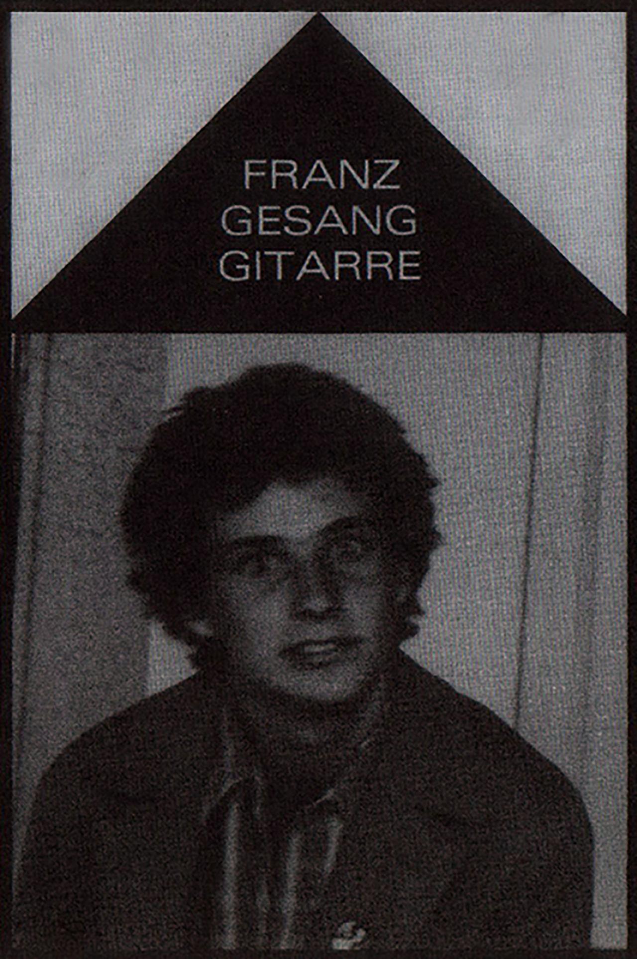 Franz Bröckel, 1979.