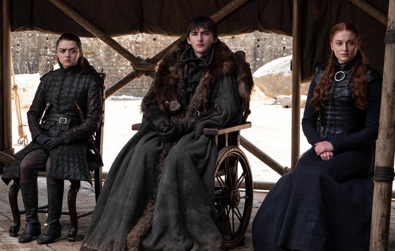Arya, Brandon und Sansa Stark