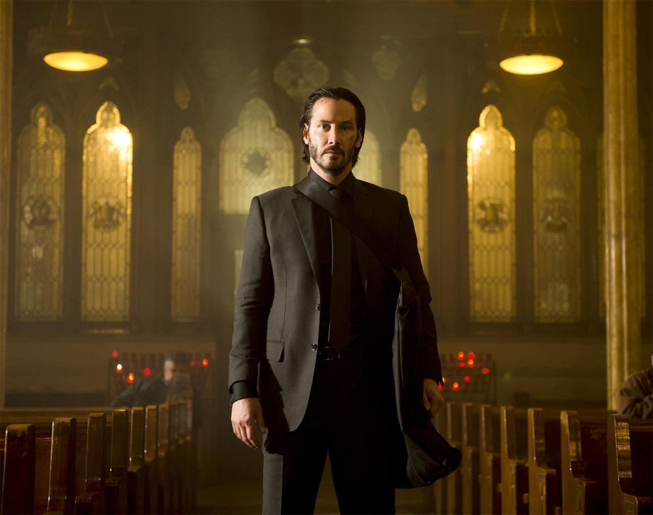 Keanu Reeves als John Wick