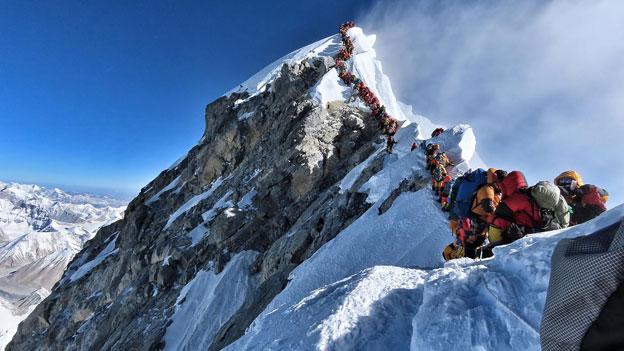 Bergwahnsinn am Mount Everest