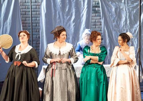 Aus der Wiener Staatsoper: Falstaff