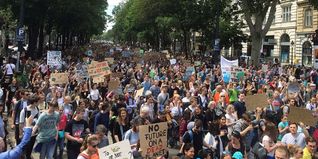 Klimastreik Fridays for Future in Wien 31.5.2019