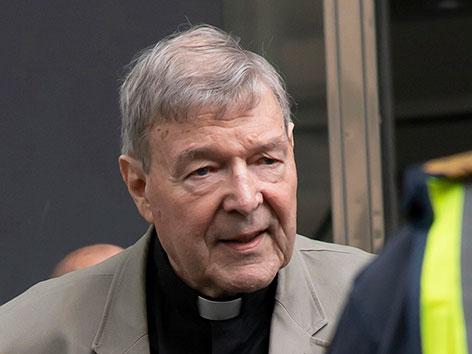 George Pell, verurteilter Kardinal