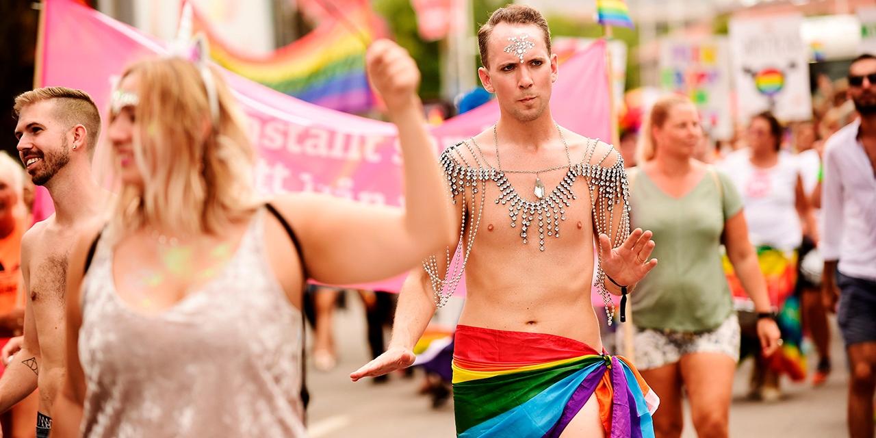 Pride Parade Stockholm 2018