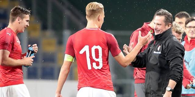 Gregoritsch mit U21-Spielern