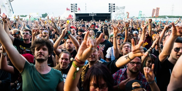 Novarock 2018 Crowd bei Crazy Town