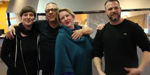 Queere Partyveranstalter*innen:  Petra Kißlinger, Holger Thor, Denice Bourbon, Gerald Van Der Hint