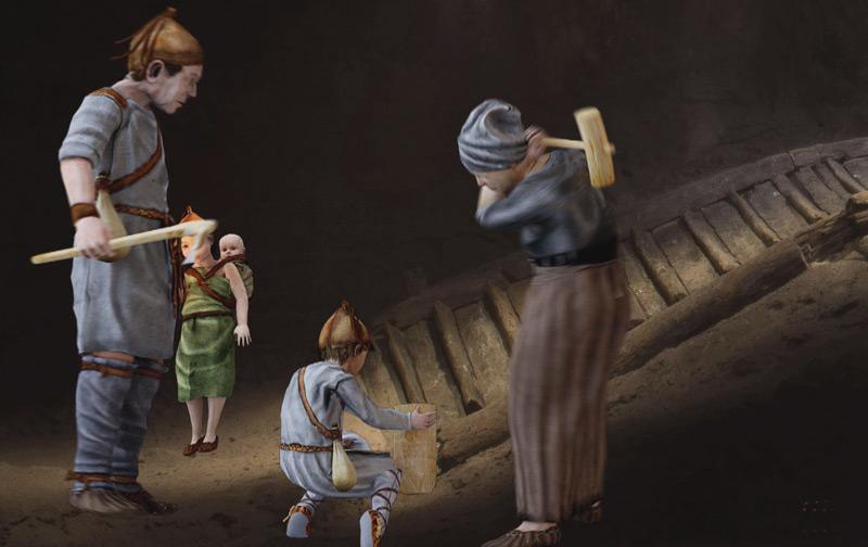 Im prähistorischen Bergwerk von Hallstatt arbeiteten nicht nur Männer, sondern auch Frauen und Kinder