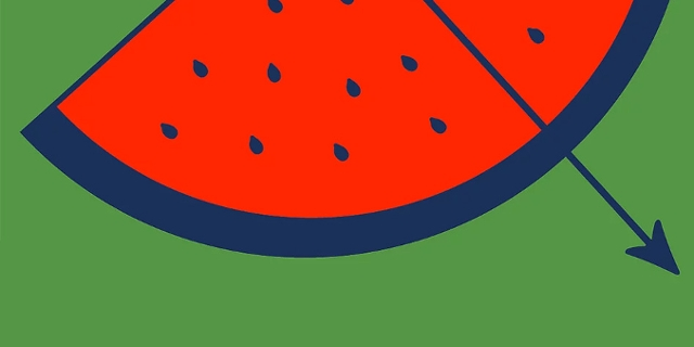 Sommer im MQ Logo Wassermelone