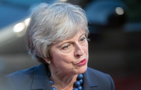 Theresa May – die Kämpferin