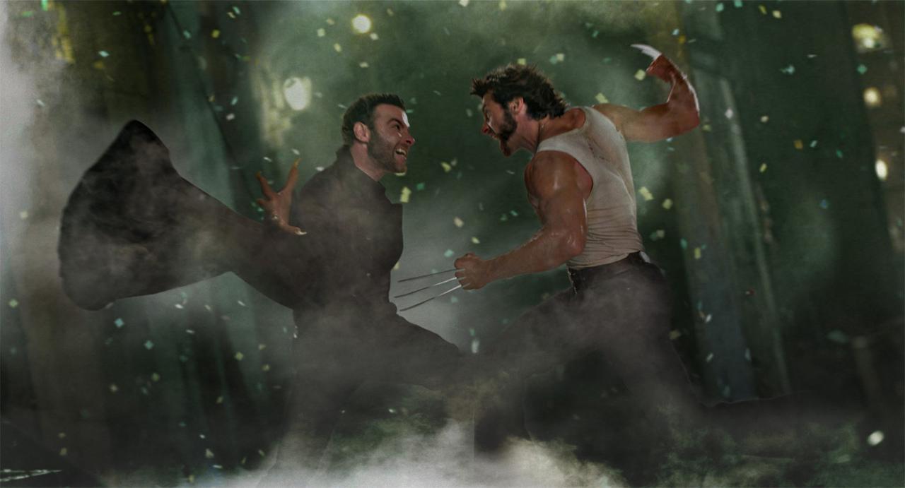 "Film-Szenenbild aus ""X-Men Origins: Wolverine"""