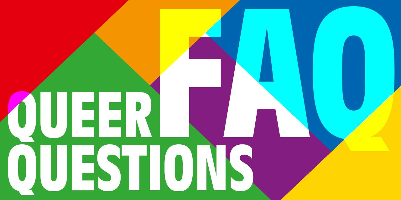Frequently Asked Questions und Regenbogenfarben