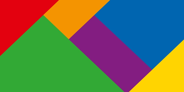 Regenbogenfarben