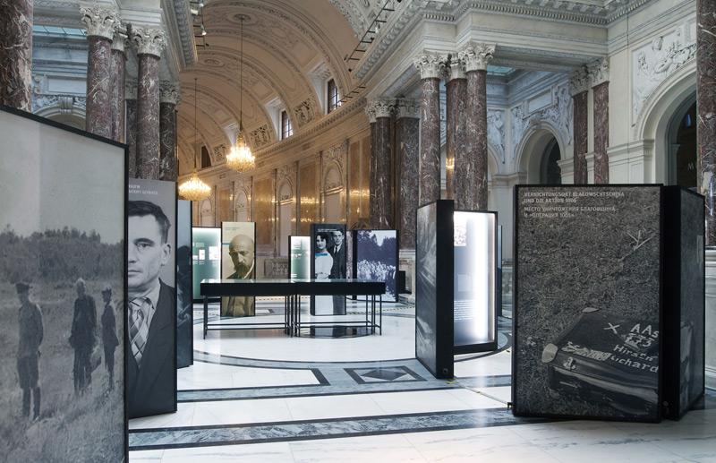 Ausstellung zu Malyj Trostenez im hdgö