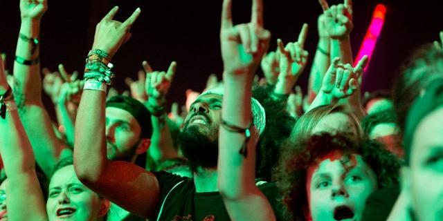 Publikum bei Slipknot