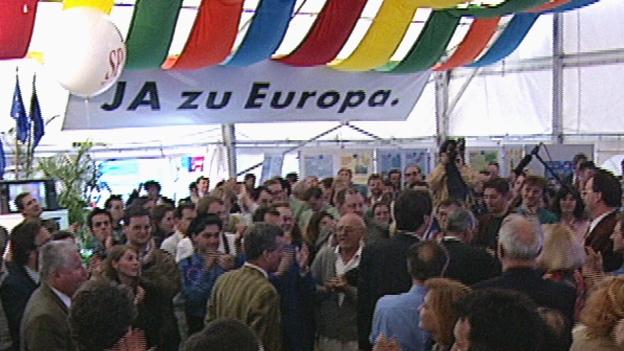EU-Volksabstuimmung am 12. Juni 1994